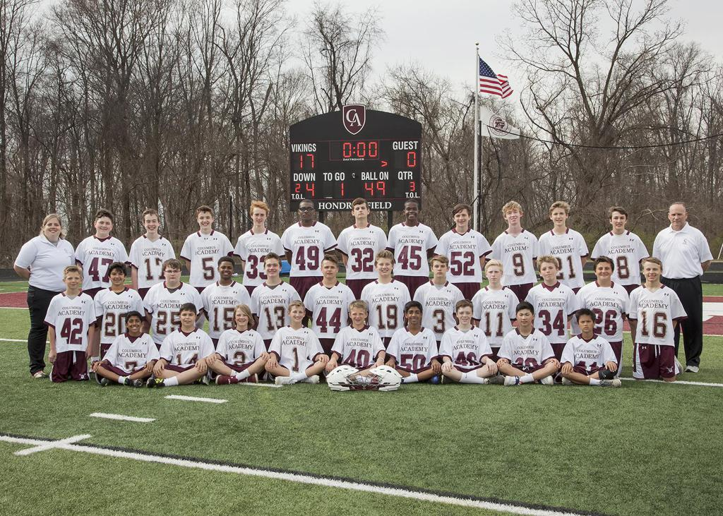 2017 Columbus Academy Middle School Boys Lacrosse