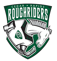 Cedar Rapids RoughRiders logo