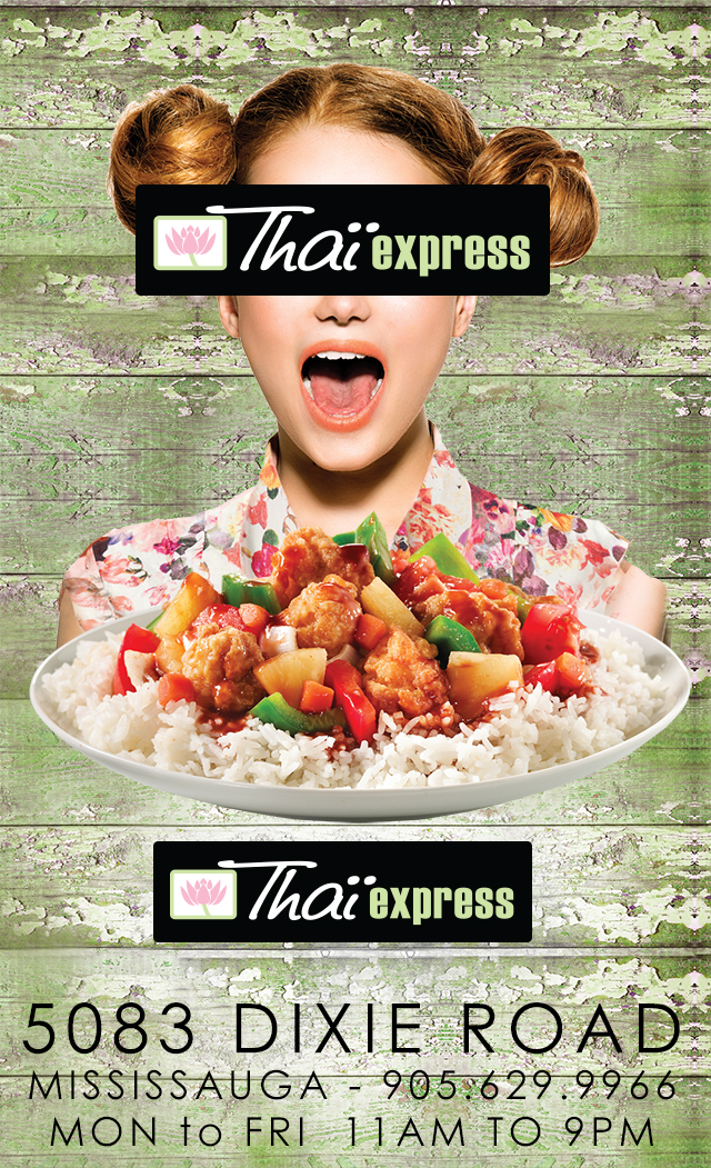 thai express on dixie road and thai express in erin mills town centre and thai express in square one shopping centre