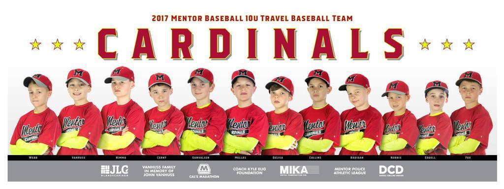 Mentor Cardinals (Cerny) 10U