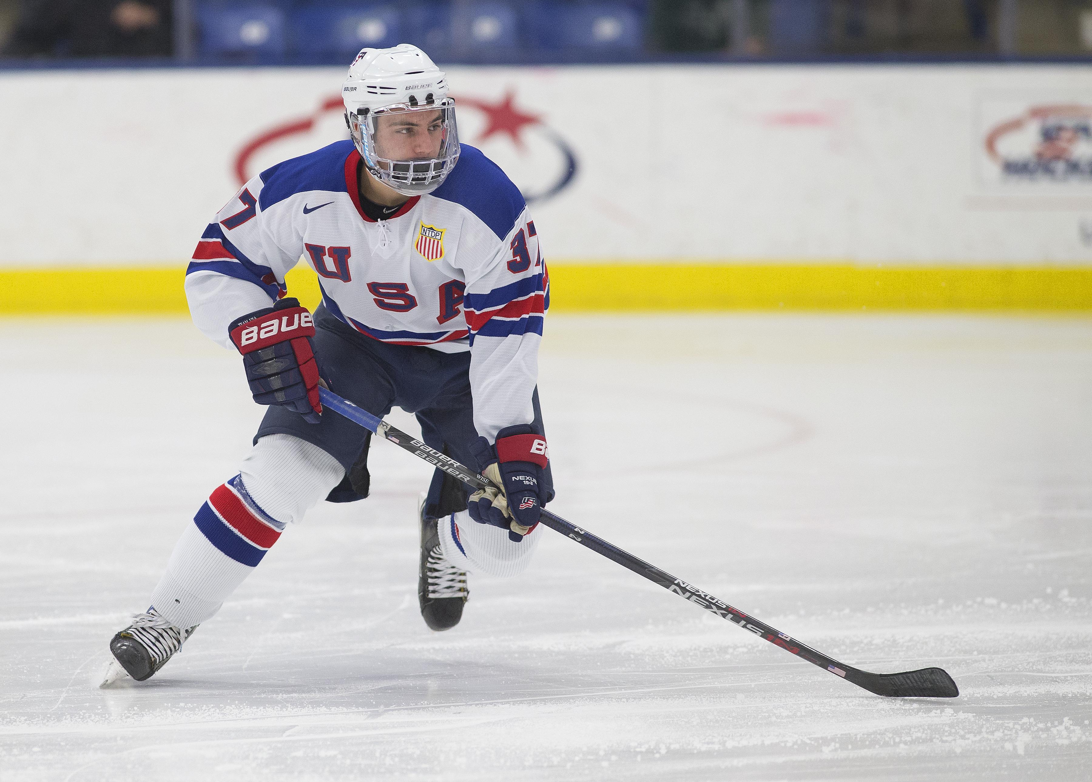 Jake Wise USA Hockey National Team Development Program