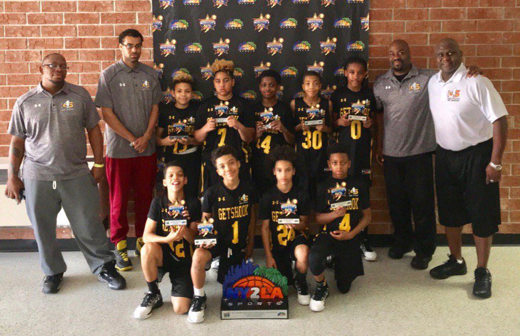 Team GetShook 5th Grade Elite GNBA runner up