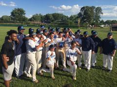 Highland score five runs in the first inning and held off for a 6-4 win and the program's first sectional title in better than 40 years.