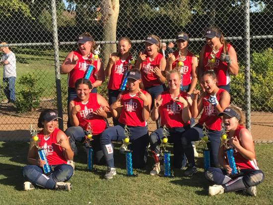 Huntington Beach 14U Gold Allstars  1st place in the Battle By The Beach tournament Aliso Viejo  These girls are unstoppable!!