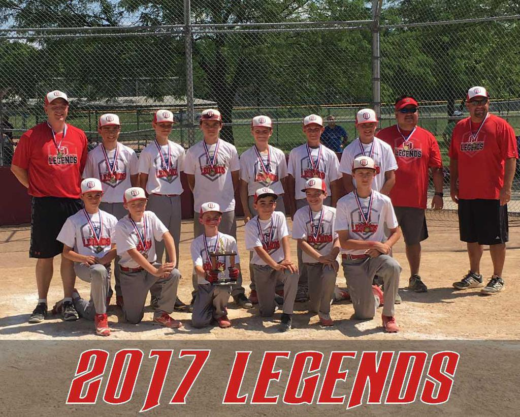 2017 MILLARD UNITED LEGENDS RED 12U
