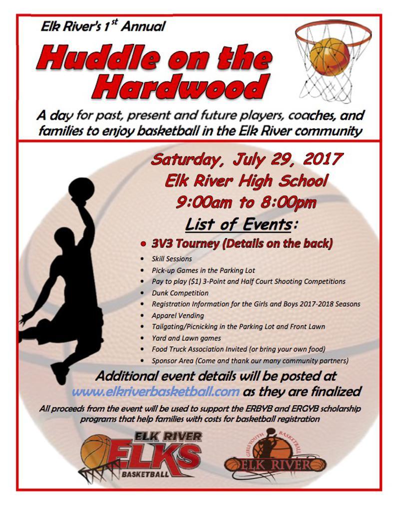 Huddle on the Hardwood