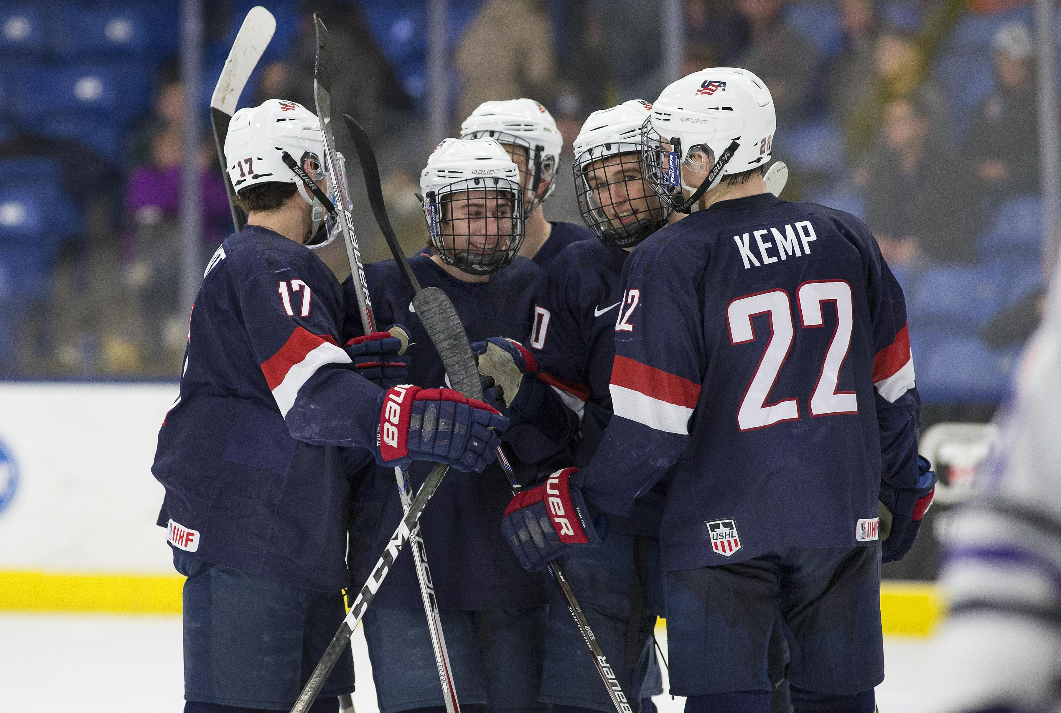 25 Players With Ntdp Ties Invited To 2017 World Junior Summer Showcase
