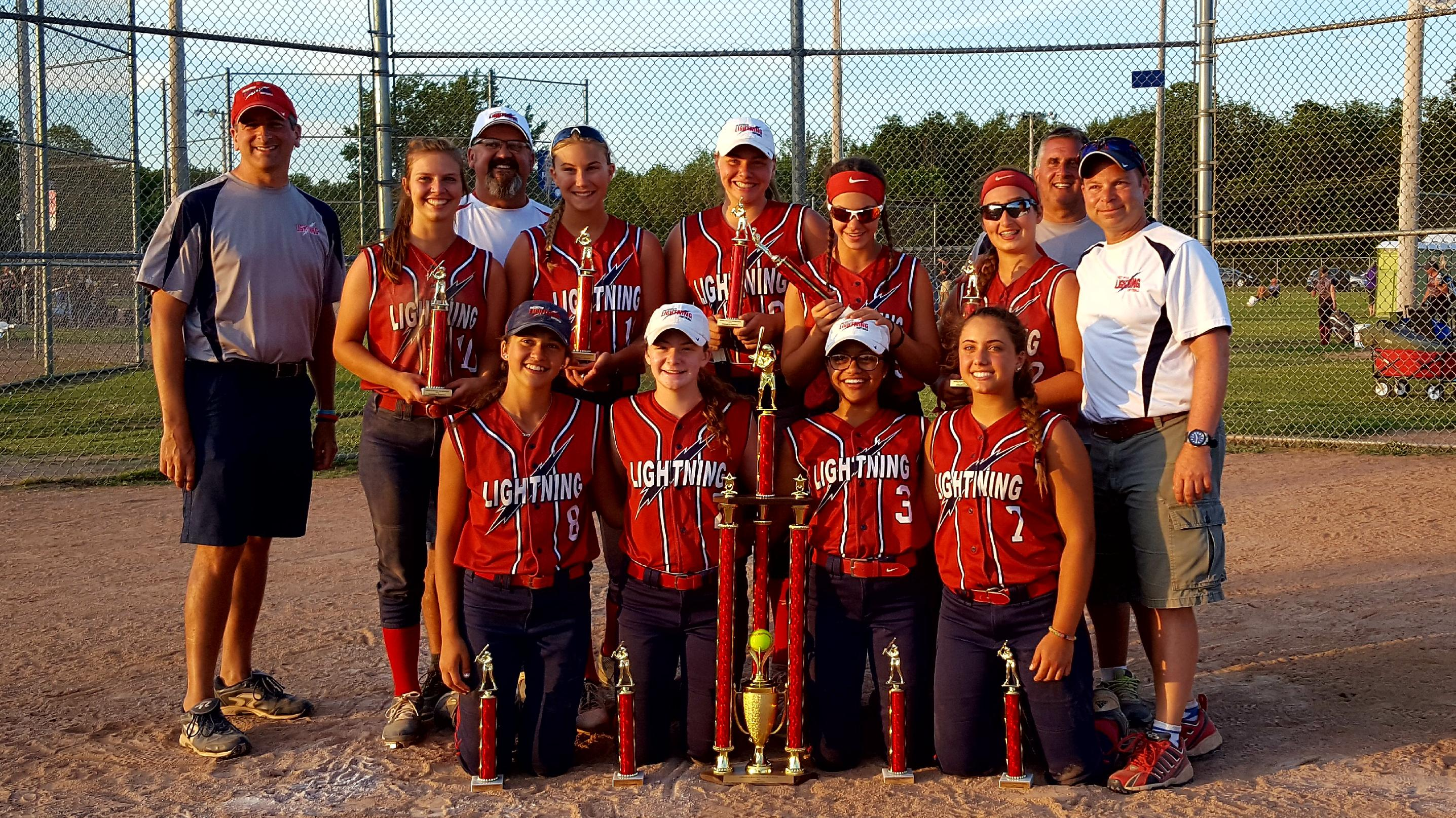 Lightning 16U wins Hamburg/Buffalo NSA Qualifier, July 7-9