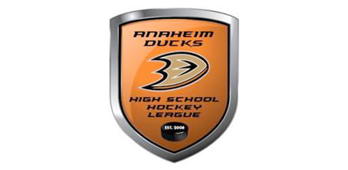 PROUD MEMBER OF  Anaheim Ducks High School Hockey League