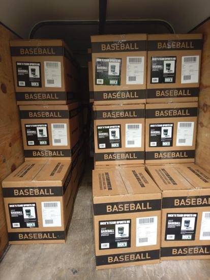 Donation To WBL From Dick's Sporting Goods