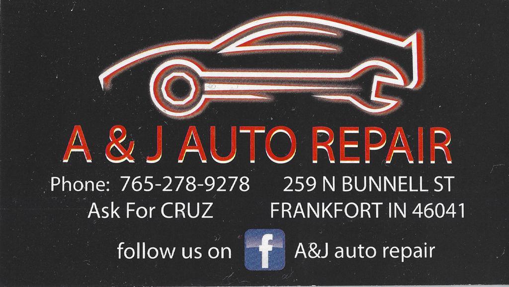 Red Sponsor A & J Auto Repair