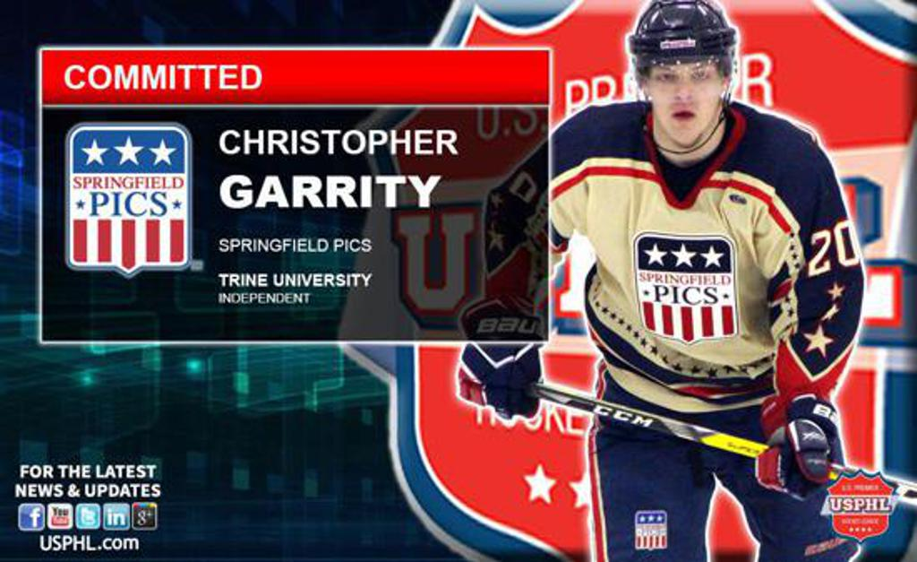 Chris Garrity commits to Trine