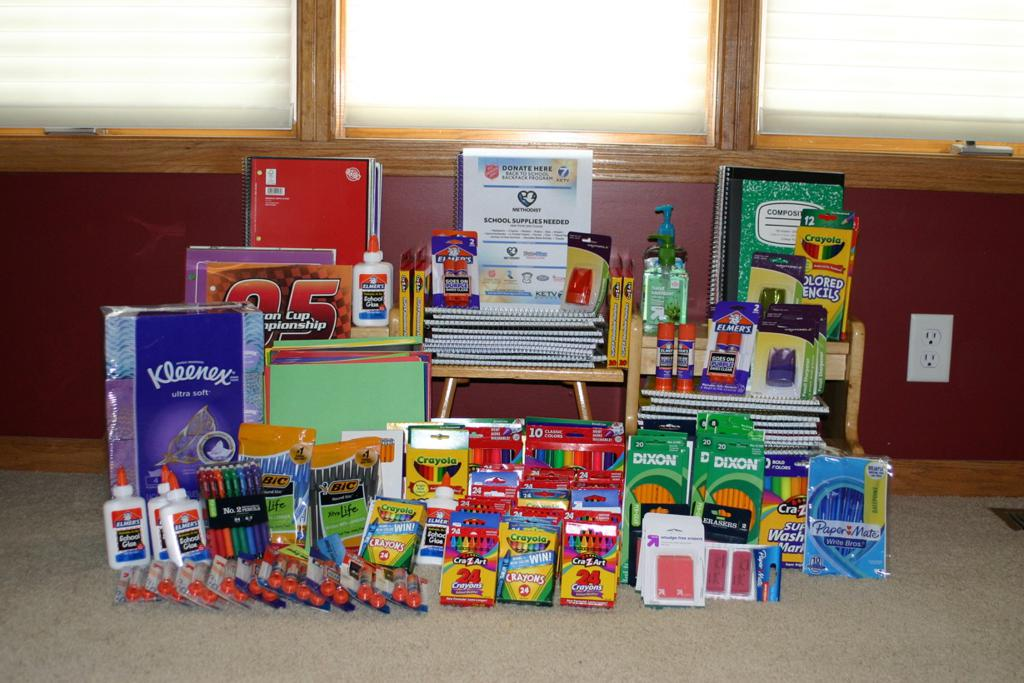 Donations for back to school