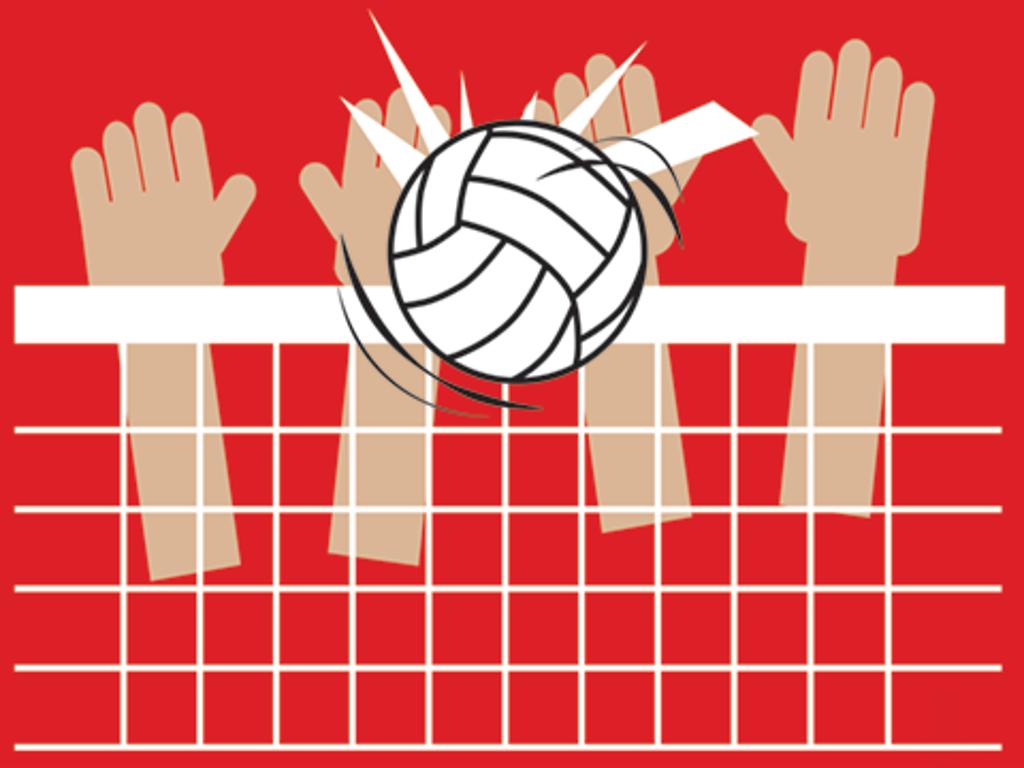 Girls Volleyball Header