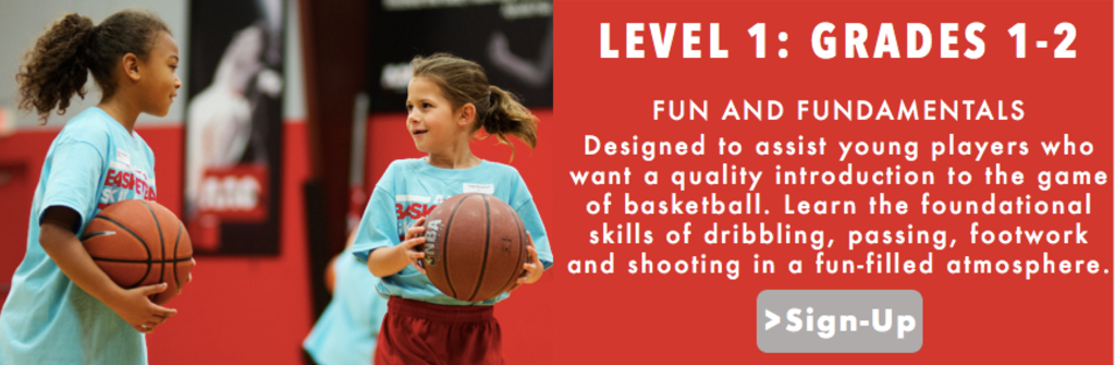LEVEL 1 GRADES 1 AND 2 AAO ASST BASKETBALL TRAINING