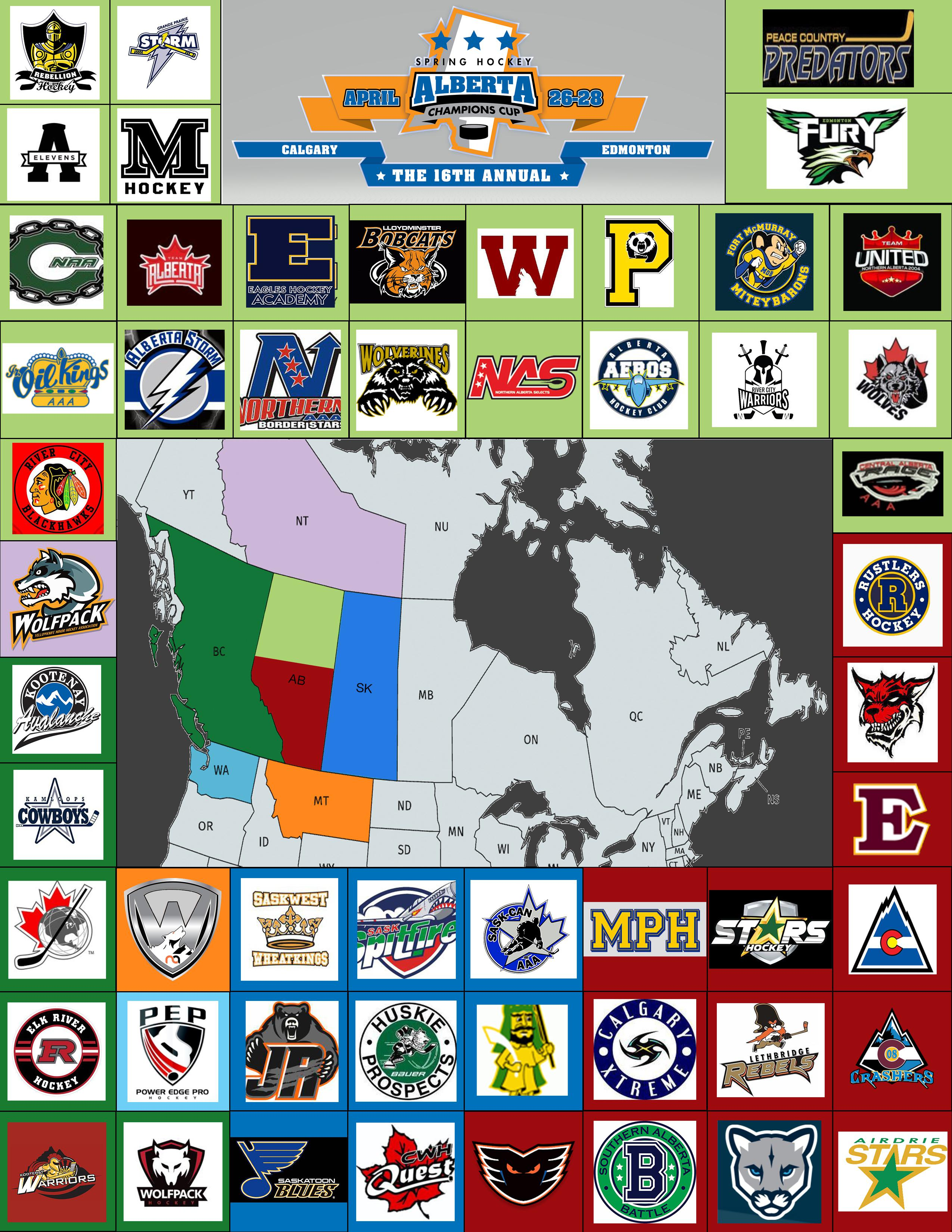 42485a00665 With over 150+ teams from across North America and from as far as the Czech  Republic. Alberta Champions Cup