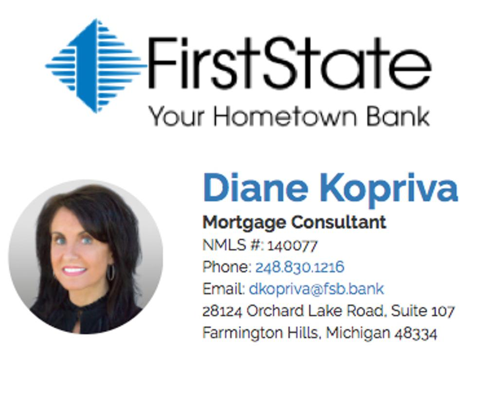First State Bank Mortgage Consultant
