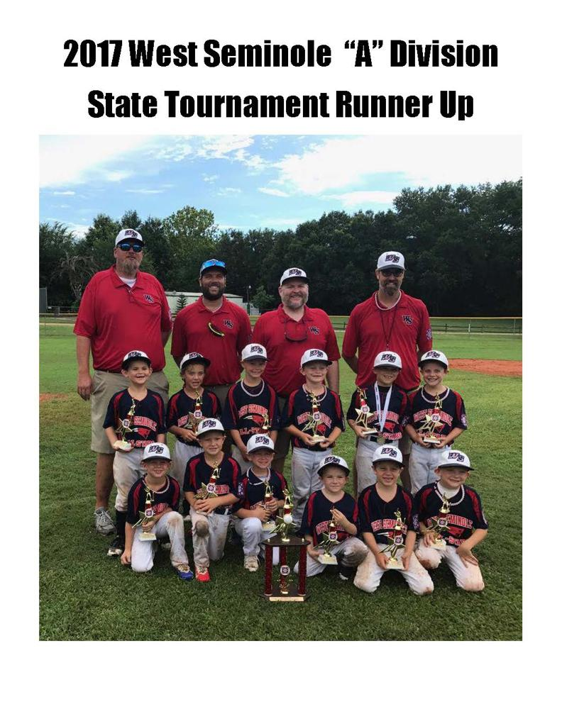 West Seminole Baseball
