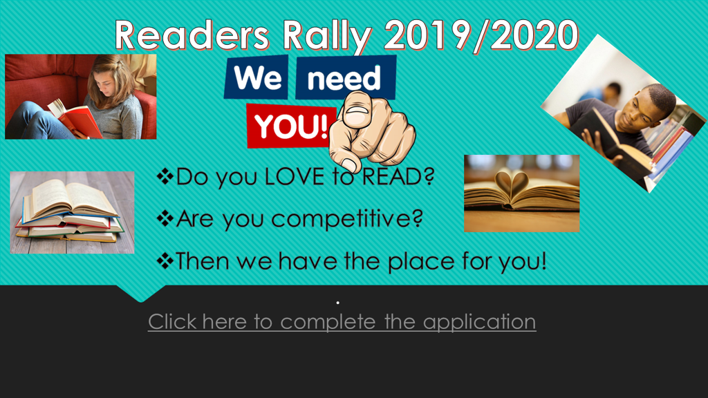 Readers Rally Info