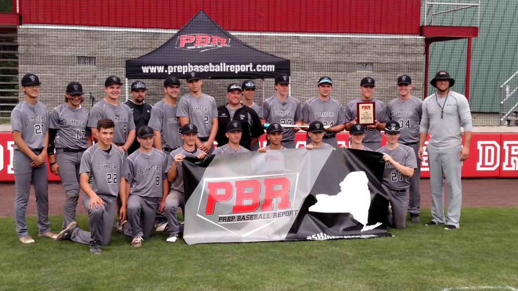 "Prep Baseball Report's 2017 New York State ""East vs. West Battle"" Champions"