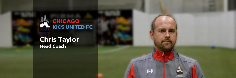 Chris Taylor KICS Head Coach