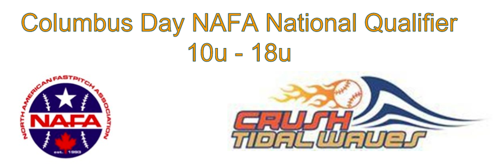 CTW Columbus Day Fastpitch Sofball NAFA National Qualifier