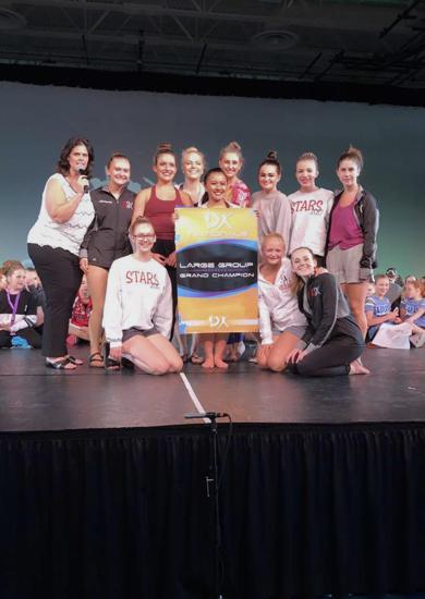 "2017 ""Stars"" at Nationals - First Place!  **Nice job ladies**"