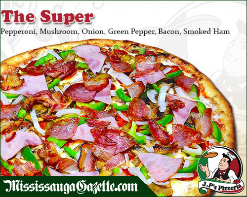 JP's Pizzeria and Pizza and Wings In Mississauga Address 5980 Churchill Meadows Blvd. (Britannia Rd. & Ninth Line) Mississauga Ontario L5M 7M5 Quick Contact JP's Pizzeria Take-Out or Free Delivery (905) 567-6669 Email Us pizza@jppizzeria.com
