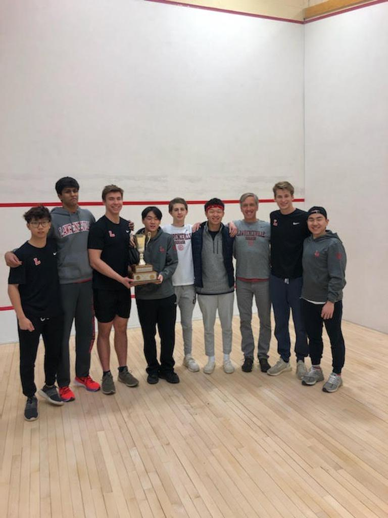 2020 MAPL Boys' Squash Champions- The Lawrenceville School