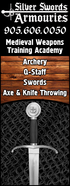 Sword Lessons In Mississauga - Sword Lessons Oakville - Archery Terminal - Battle Archery - Bow and Arrow - Quarterstaff - Pistol Training in Mississauga and Oakville.