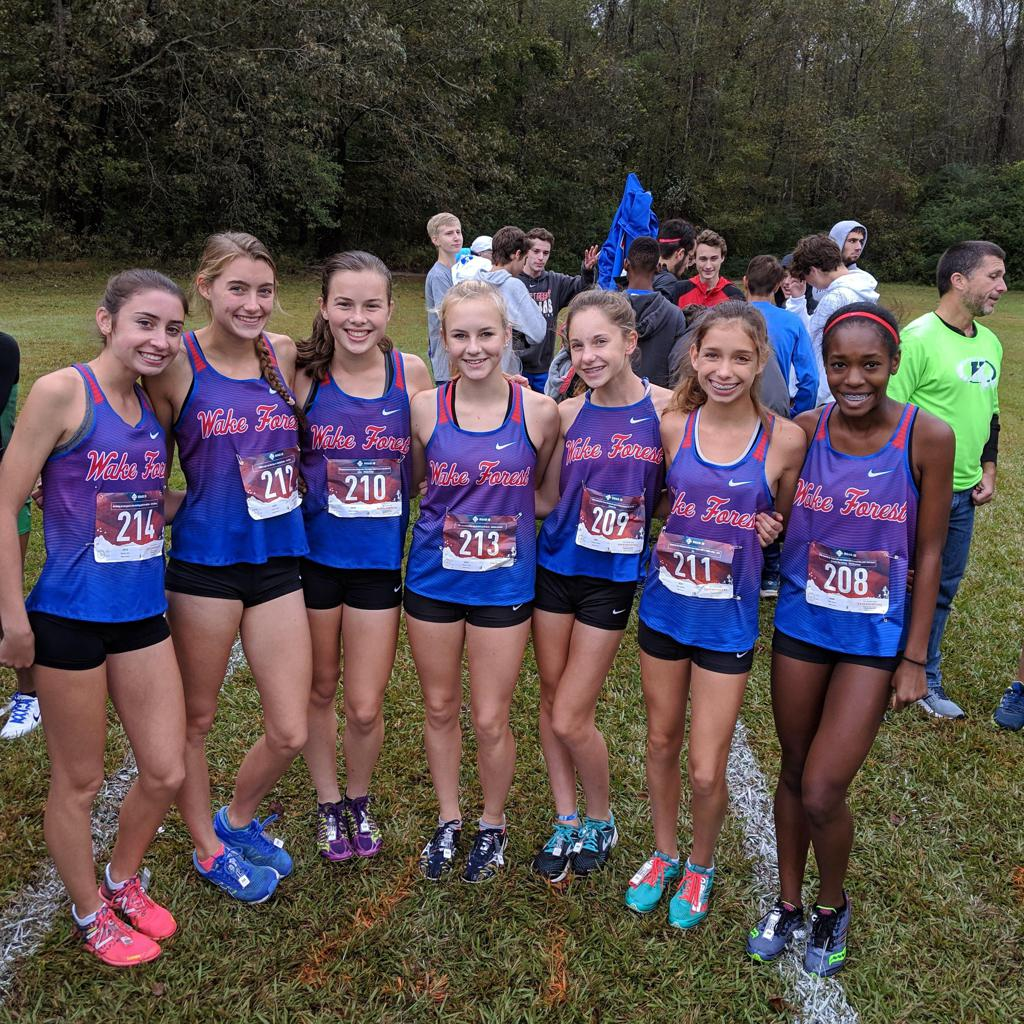 WFHS Girls XC Team are the 2018 East Regional Champions