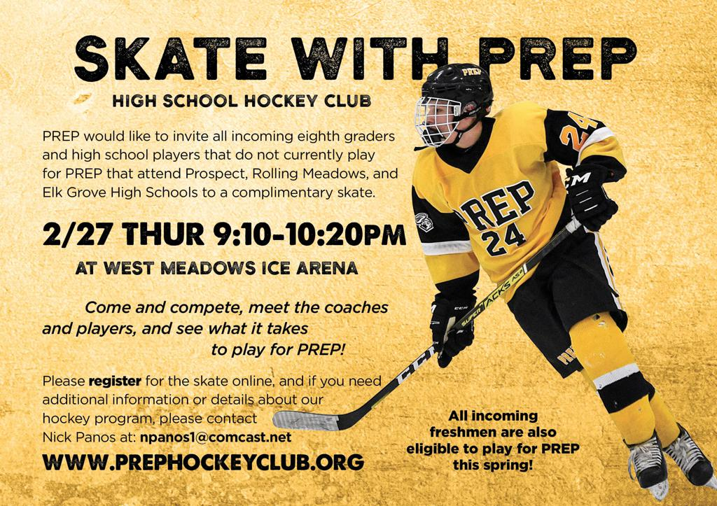 2020 PREP Incoming Player Skate