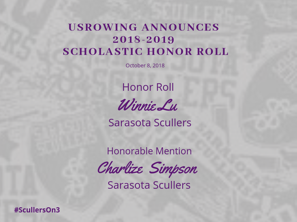 Scholastic Honor Role 18_19