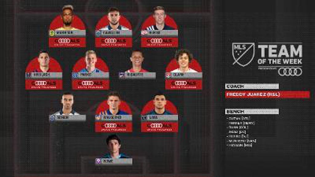 Keaton Makes MLS Team of the Week