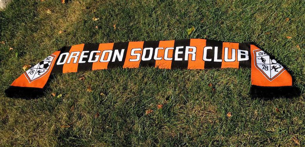 Buy your official Oregon Soccer Club scarf today!