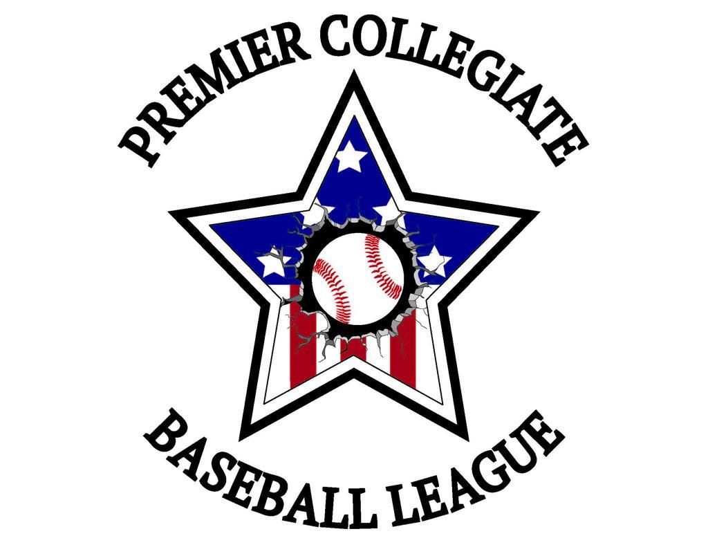 Premier Collegiate Baseball League Logo