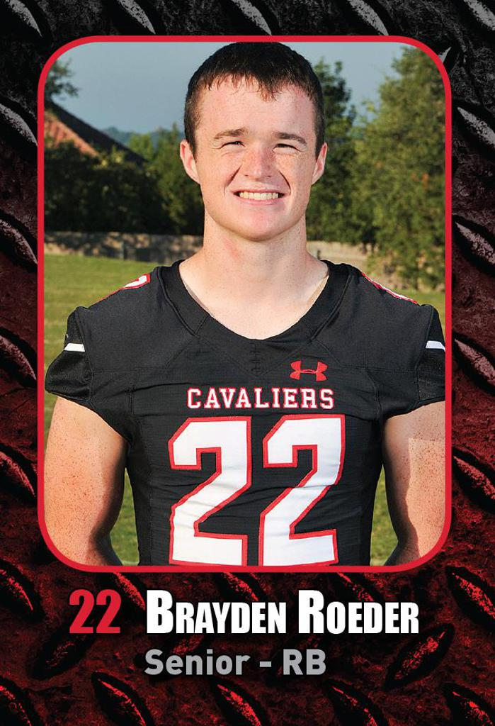 DISTRICT GAME 1 vs HAYS HS - Defensive Player of the Week
