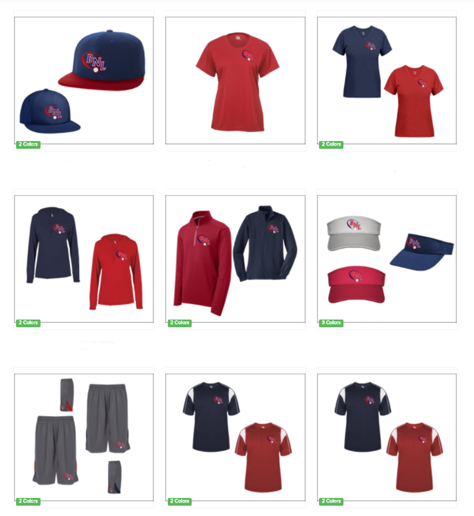 Order your BNL Apparel. Use code: bnltucson