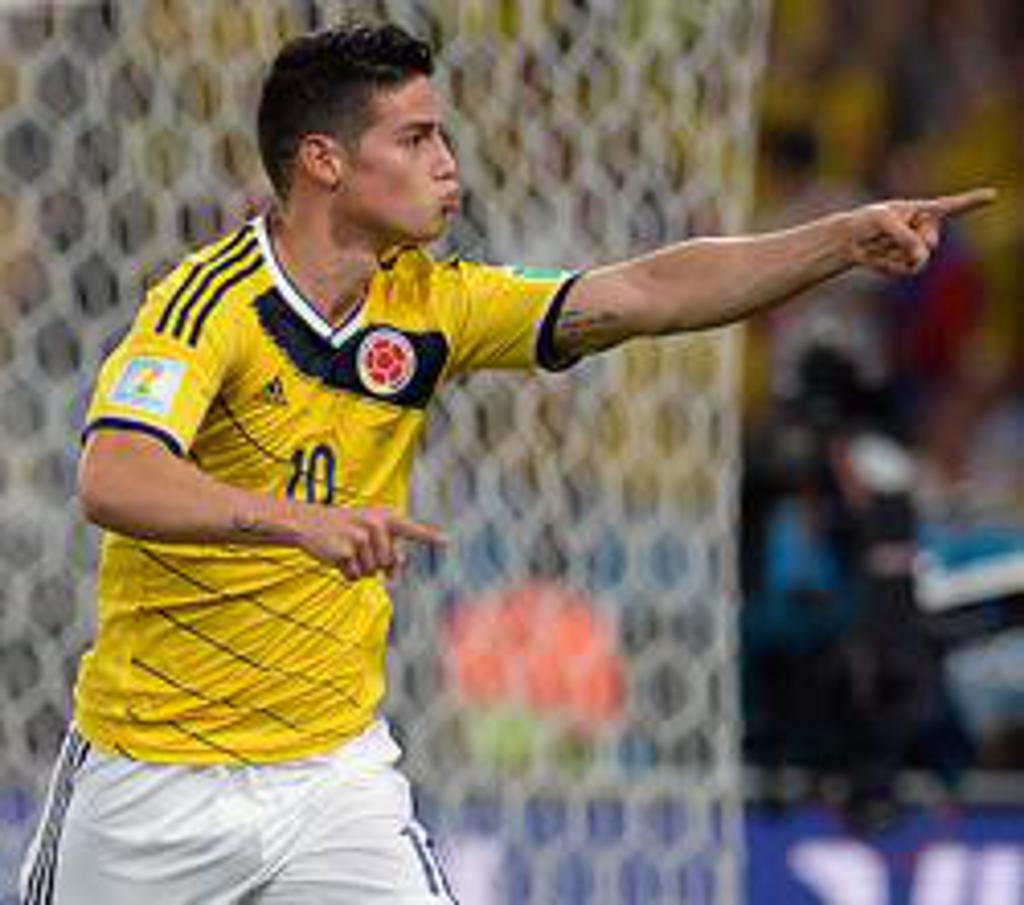 James Rodriguez Futsal Player
