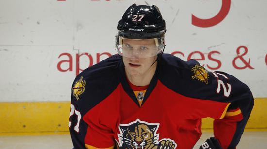 Blaine native Nick Bjugstad enters his sixth season with the Florida Panthers. Credit: Courtesy Gophersports.com.