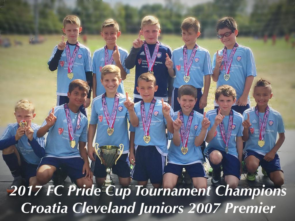 2017 Indianapolis FC Pride Cup Tournament 2007 Premier Division Champions!