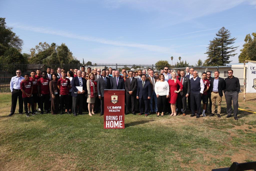 Uc Davis Health And Sacramento Republic Fc Announce Binding Mls