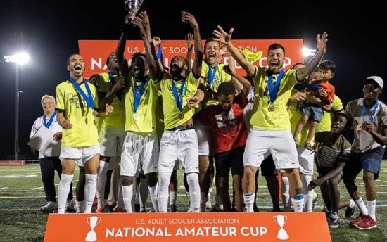 Newtown Pride FC Wins 2019 USASA National Amateur Cup