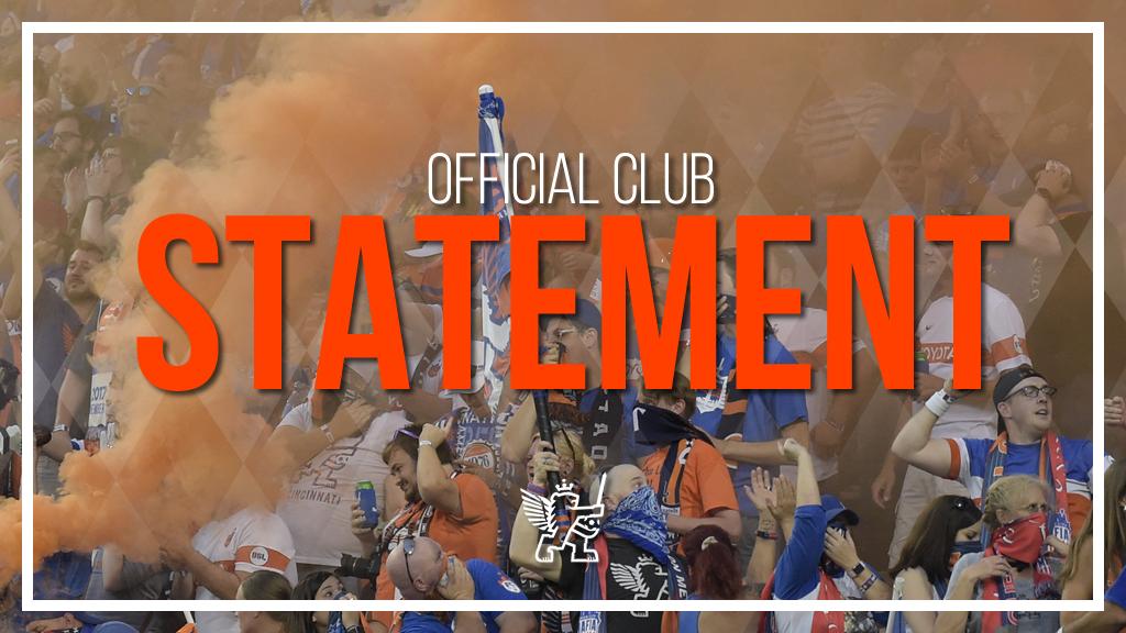 FC Cincinnati sign jersey sponsorship deal pending MLS acceptance