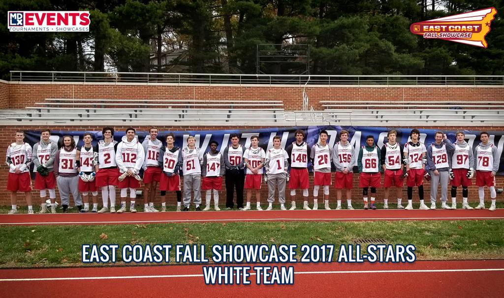 East Coast Fall Showcase 2017 All Star WHITE Team