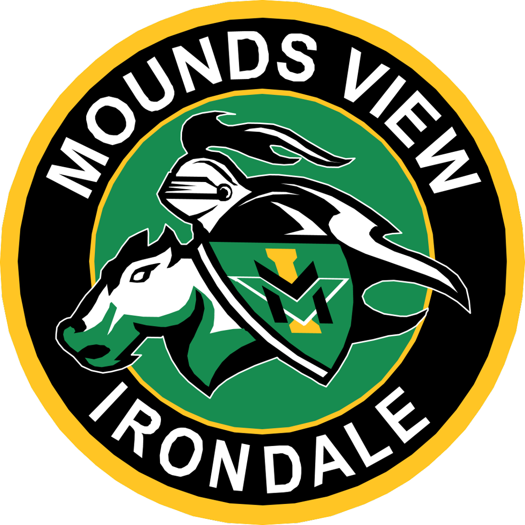 Mounds View Irondale logo