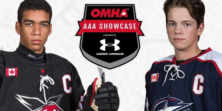 omha minor midget aaa showcase