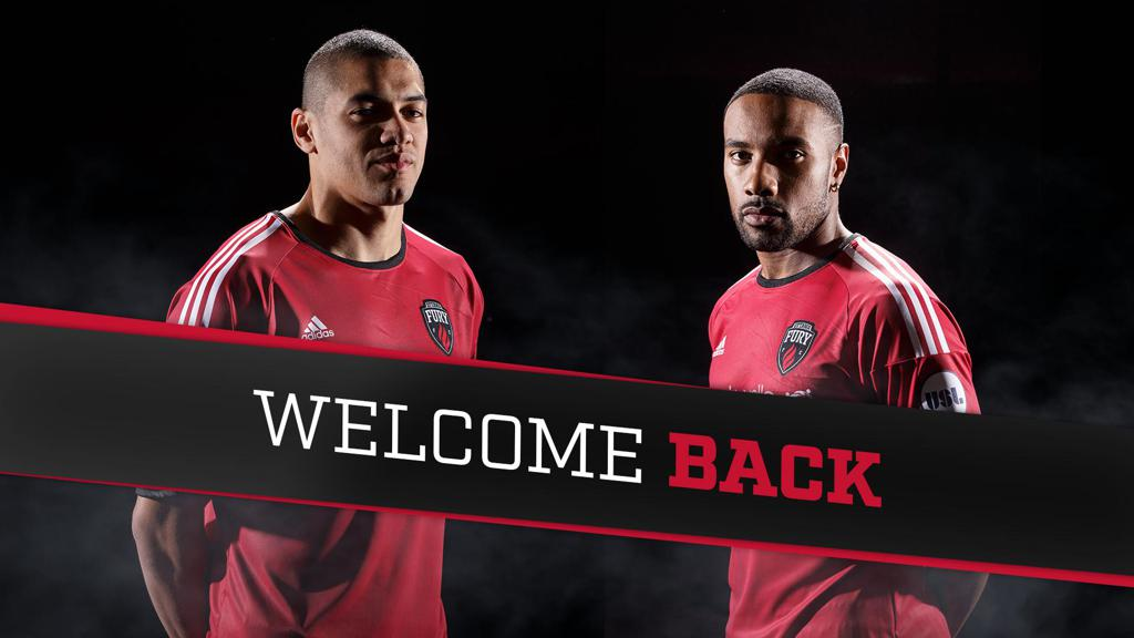 Dixon and Obasi re-sign with Fury FC