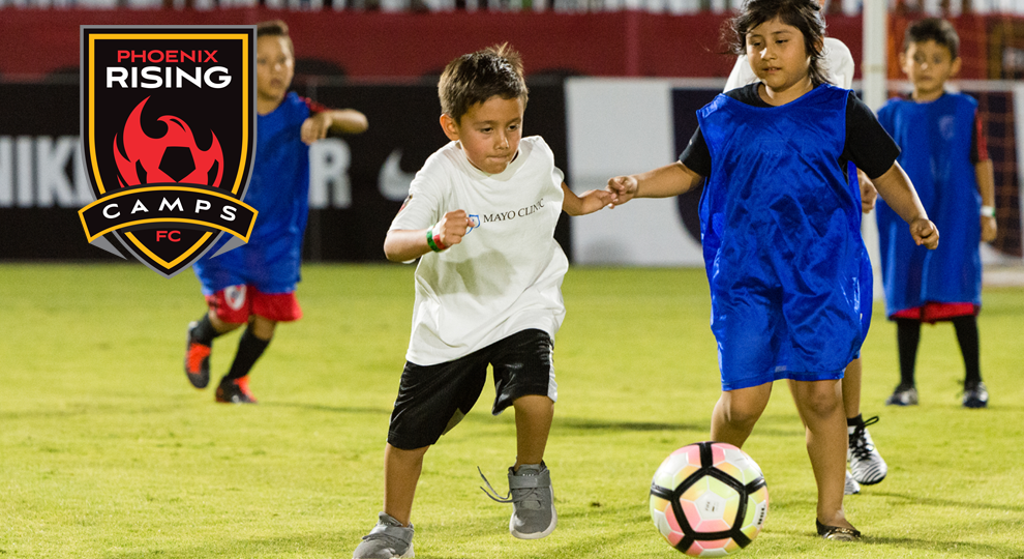 75767ca8d95 Phoenix Rising FC has launched its  Rising2Play and  Rising2Pro Camps and  Training Programs for local youth soccer players. The programs