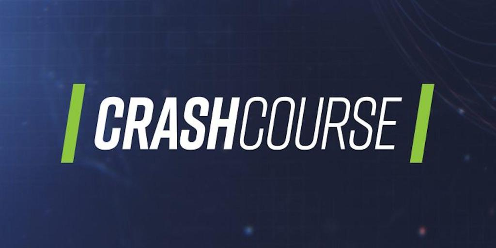 Crashcourse logo, click for more information